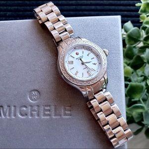 Michele Jet Way Diamond Watch • Limited Edition •
